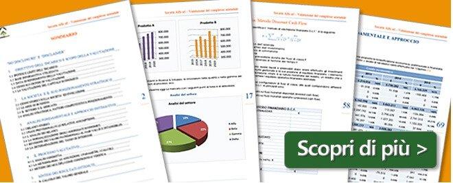 Esempio Relazione di Analisi di bilancio e Rating