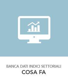 utilizzo banca dati indici settoriali