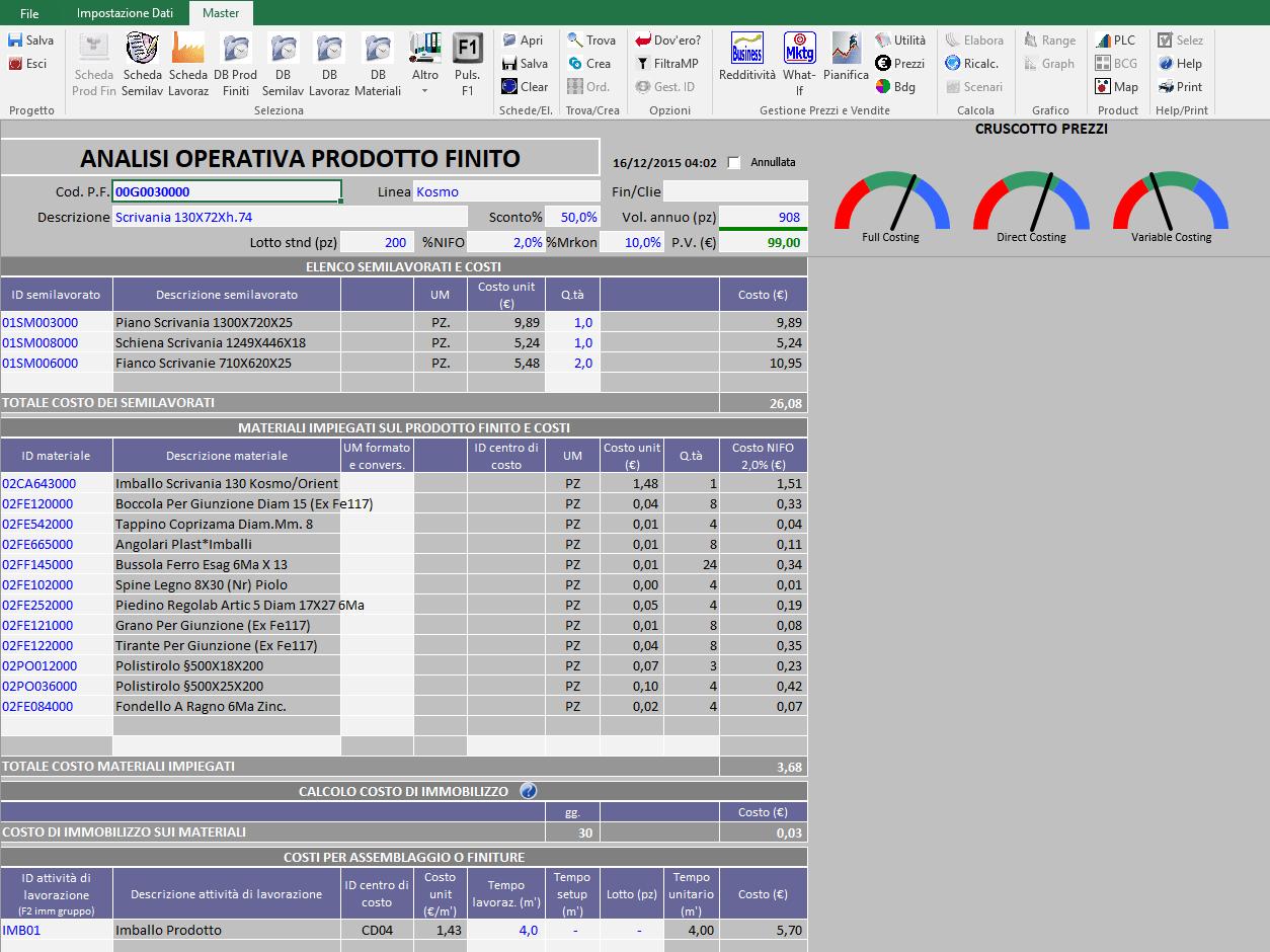 software gestione prezzi